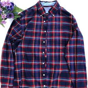 Saddlebred Plaid Button Down Shirt